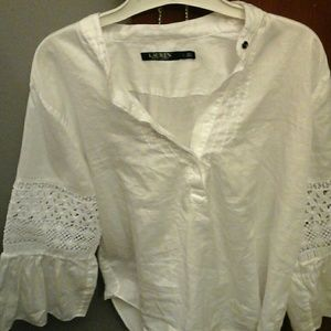 Ralph Lauren womens blouse euc